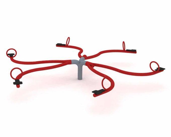 Wippe Spider für 6 Kinder - LEDON Originals 1