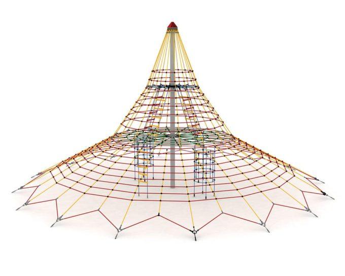Cheops Pyramide Kletternetz - LEDON Originals 1