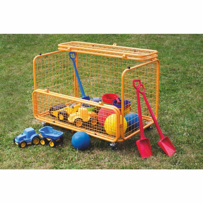 beleduc Transportwagen - Für Spielzeug und Spielgeräte 2