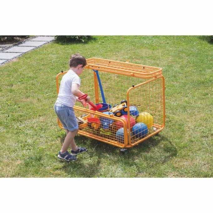 beleduc Transportwagen - Für Spielzeug und Spielgeräte 3