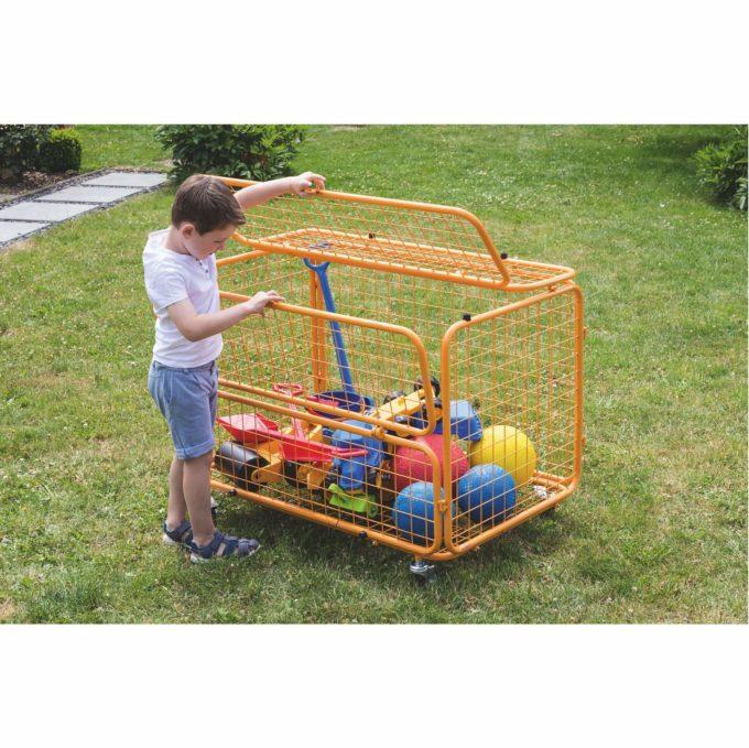 beleduc Transportwagen - Für Spielzeug und Spielgeräte 5
