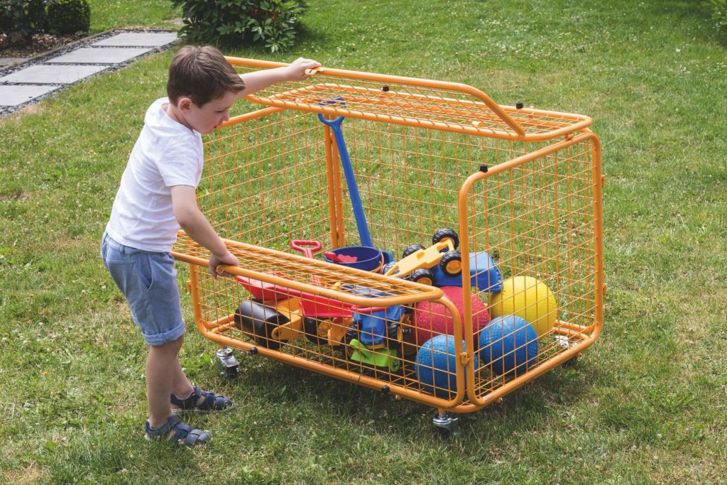 beleduc Transportwagen - Für Spielzeug und Spielgeräte 9