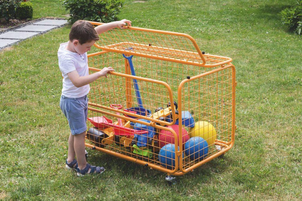 beleduc Transportwagen - Für Spielzeug und Spielgeräte 8