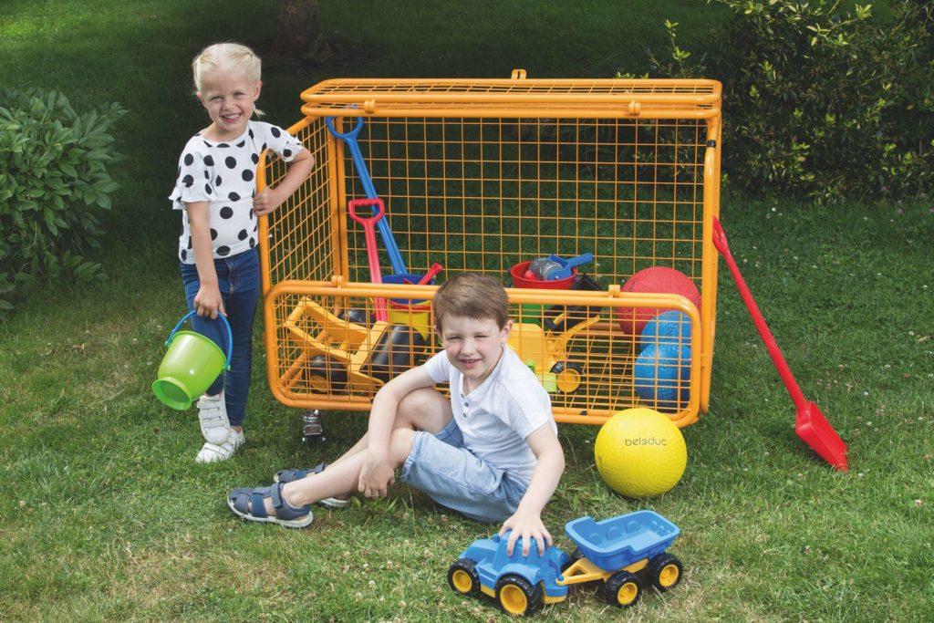 beleduc Transportwagen - Für Spielzeug und Spielgeräte 6