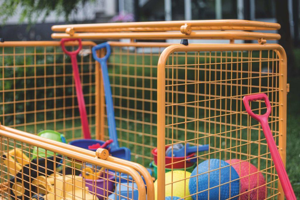 beleduc Transportwagen - Für Spielzeug und Spielgeräte 11