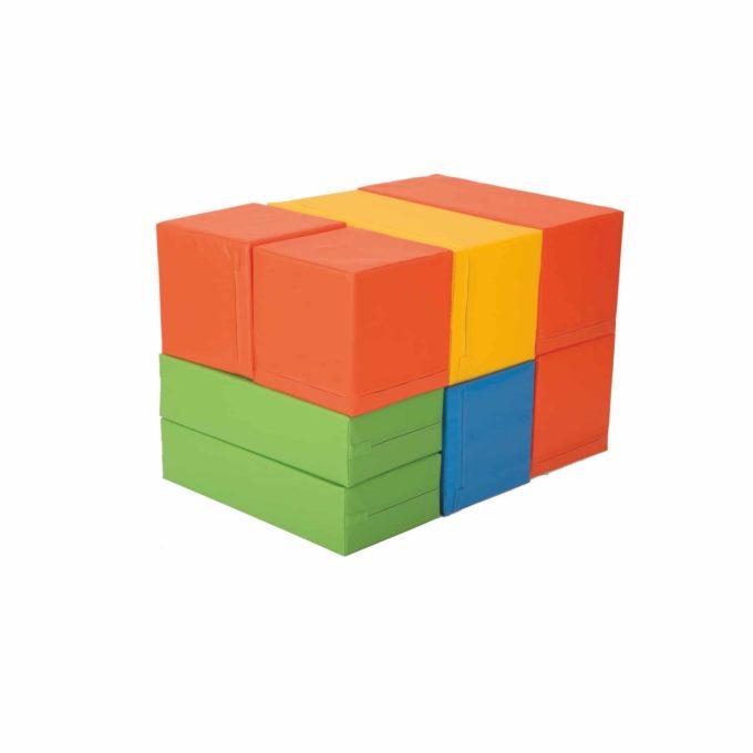 12-teiliger Bausteinsatz MAXI 2