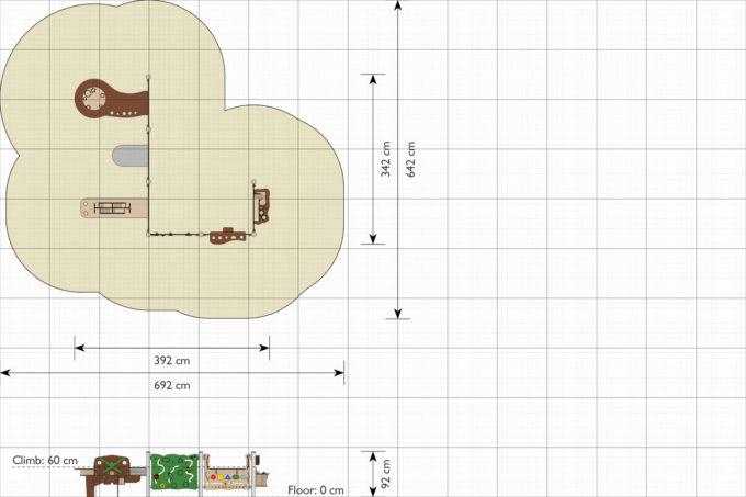 Spielwand Pilas - LEDON Explore - EX007 4