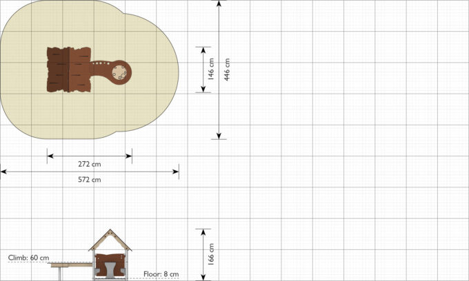 Spielhaus Lin - LEDON Explore - EX091 3