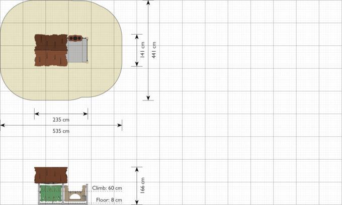 Spielhaus Kiki - LEDON Explore - EX092 2