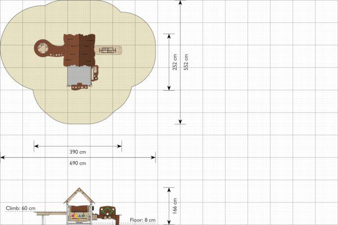 Spielhaus Tobi - LEDON Explore - EX094 2