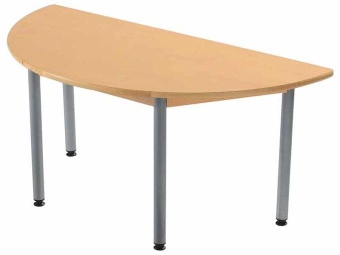 Tisch halbrund - in 4 Farben 2