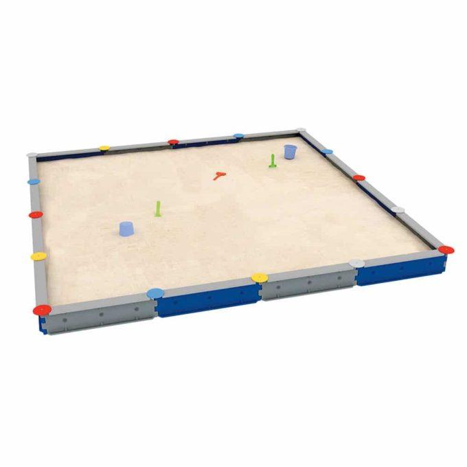 LEDON Sandkasten quadratisch mit 16 Seiten - verschiedene Ausführungen 1