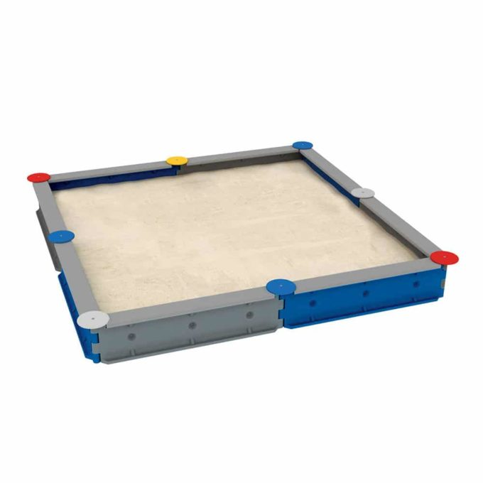 LEDON Sandkasten quadratisch mit 8 Seiten - verschiedene Ausführungen 1