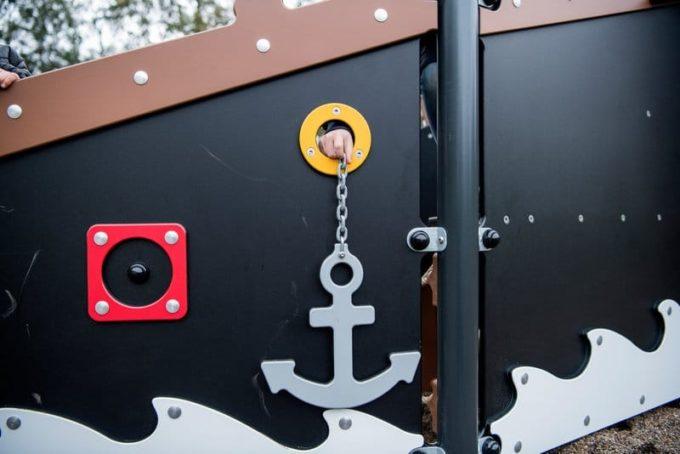 Piratenschiff Module aus der Serie LEDON Pirates 10