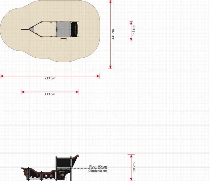 Kleines Piratenschiff aus der Serie LEDON Pirates - in verschiedenen Ausführungen 8