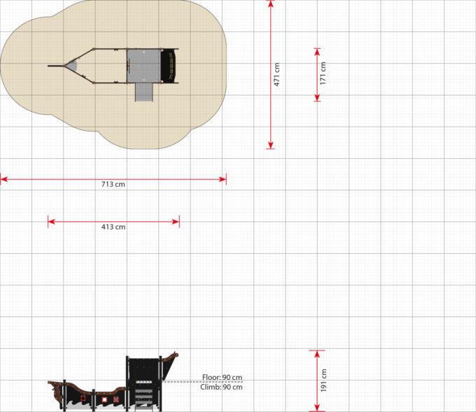 Kleines Piratenschiff aus der Serie LEDON Pirates - in verschiedenen Ausführungen 9