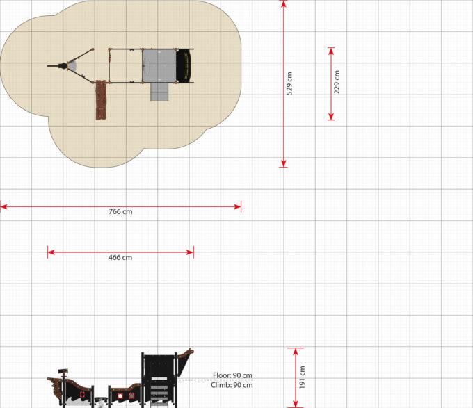 Mittelgroßes Piratenschiff aus der Serie LEDON Pirates - in verschiedenen Ausführungen 11