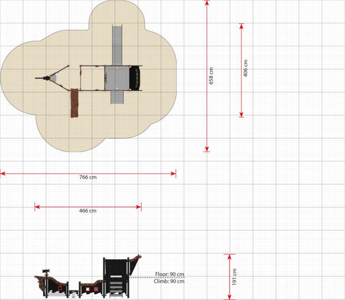 Mittelgroßes Piratenschiff aus der Serie LEDON Pirates - in verschiedenen Ausführungen 12