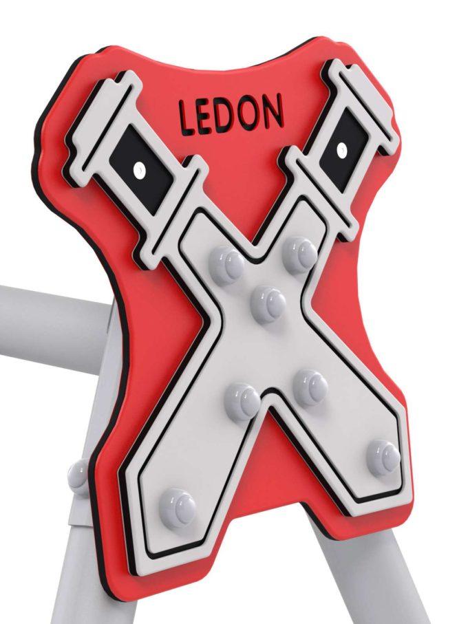 LEDON Schaukelkombination mit zwei Schaukeln und einem Babysitz - verschiedene Designs 6