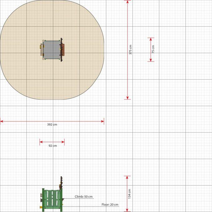 Kleiner Spielplatz Noa - LEDON MiniPlay - MP110 2