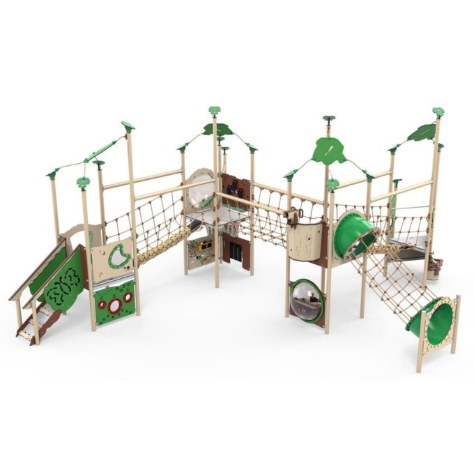 Große Kletter-Spielanlage Titan - LEDON Explore - EX450 1