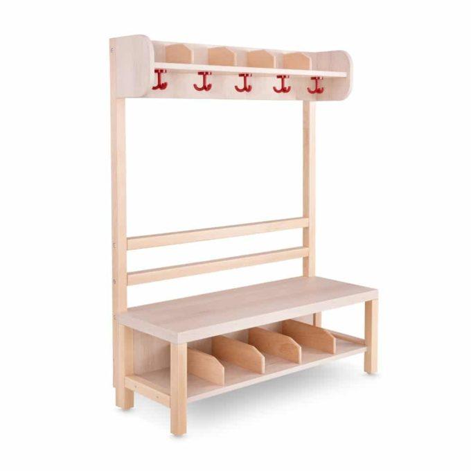 Kindergarten-Garderobe Klassiker 1