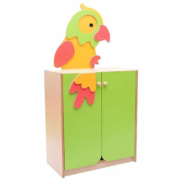Kindergarten-Schrank - Papagei 1