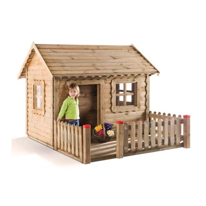 Spielhaus Lucas aus Kiefernholz 1