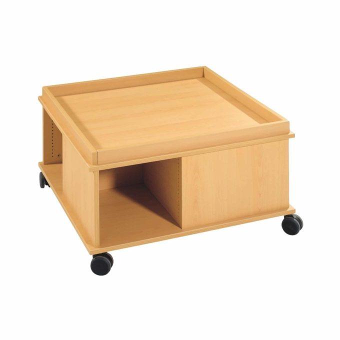 Spieltisch mit Begrenzungen ohne Tür 1