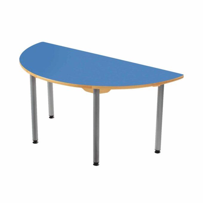 Tisch halbrund - in 4 Farben 1