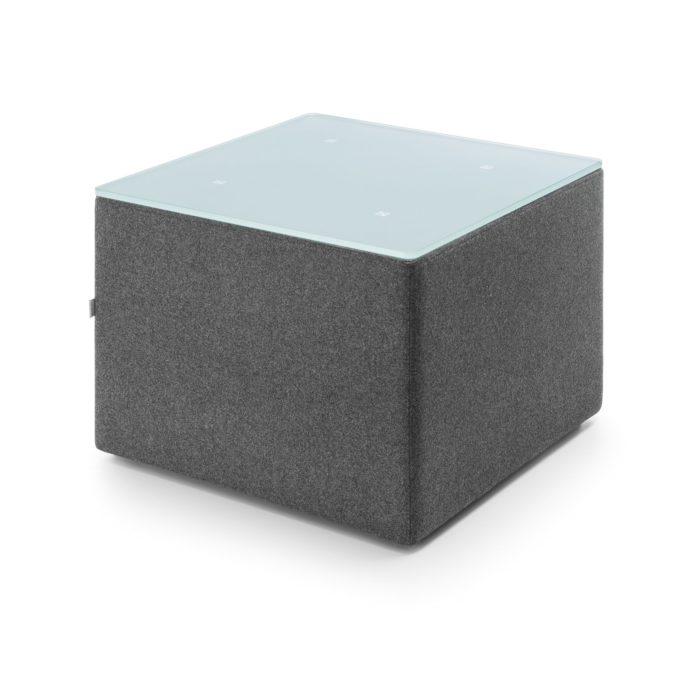 Beistelltisch Vito 1 B - quadratisch 1