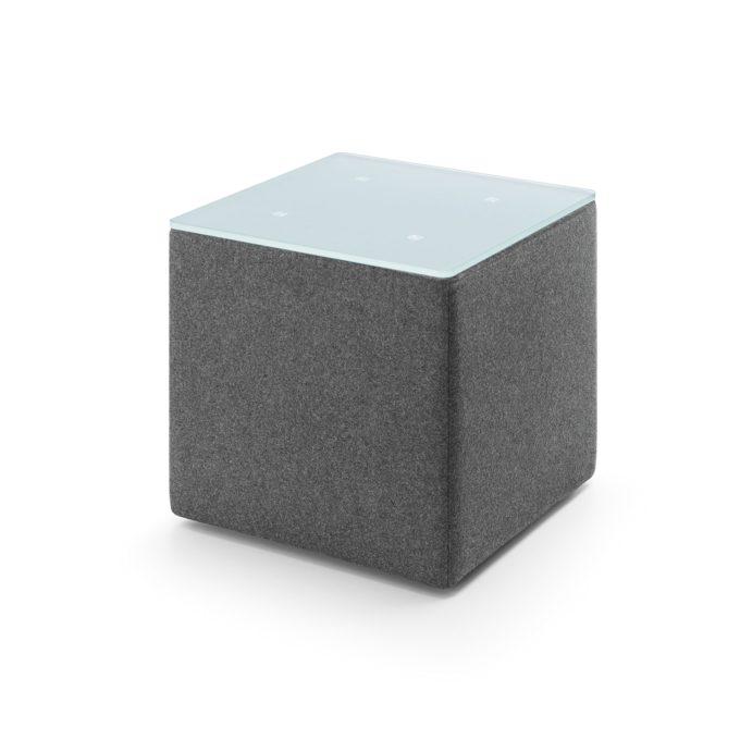 Beistelltisch Vito 2 B - quadratisch 1