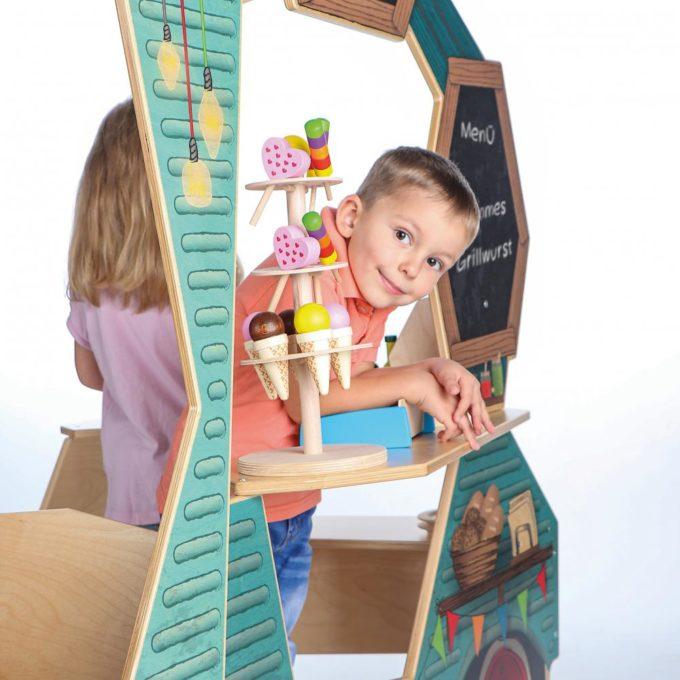 Spielküche & Kaufladen - Food-Truck 7