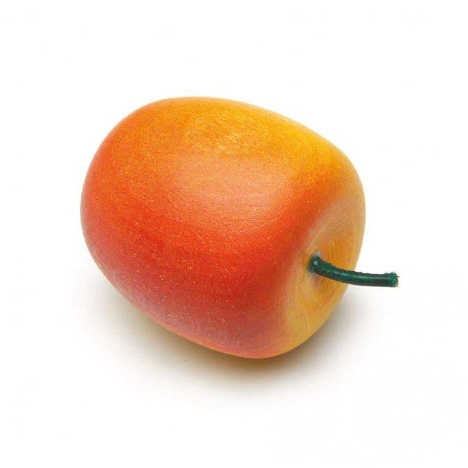 Kaufladenartikel - Apfel - gelb-rot 1