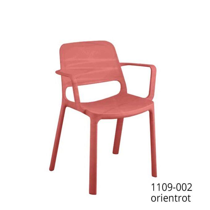 Friwa Kunststoff-Stapelstuhl mit Armlehnen in 8 Farben 4