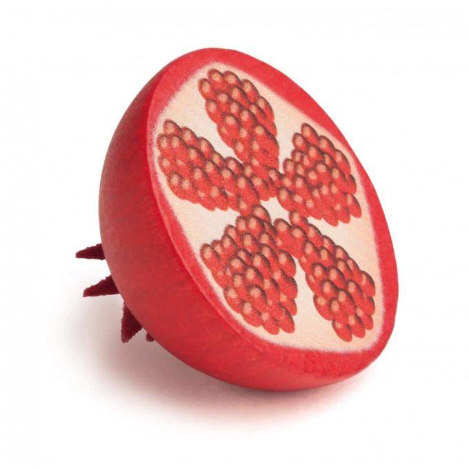 Kaufladenartikel - Granatapfel - halb (3 Stück) 1