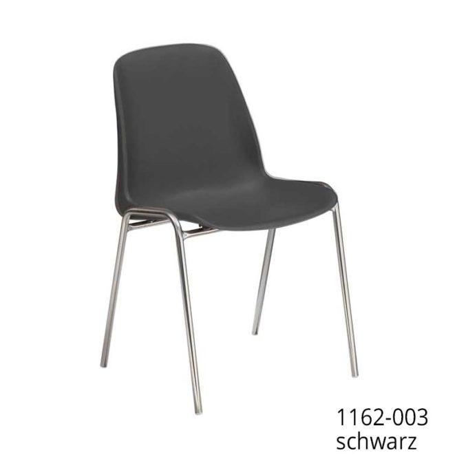 Friwa Schalen-Stapelstuhl in 11 Farben (mit oder ohne Reihenverbindung) 5