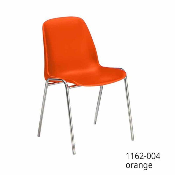Friwa Schalen-Stapelstuhl in 11 Farben (mit oder ohne Reihenverbindung) 6