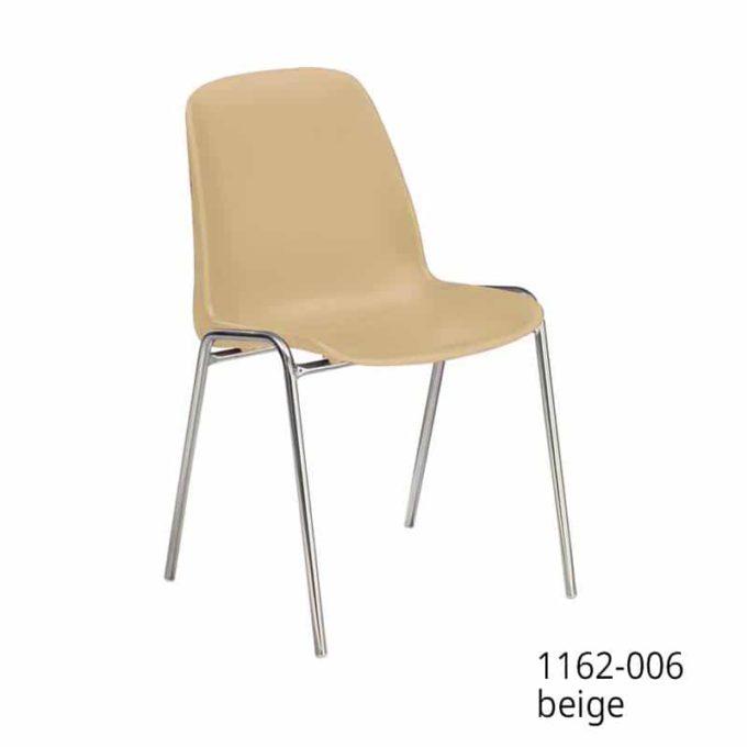 Friwa Schalen-Stapelstuhl in 11 Farben (mit oder ohne Reihenverbindung) 9