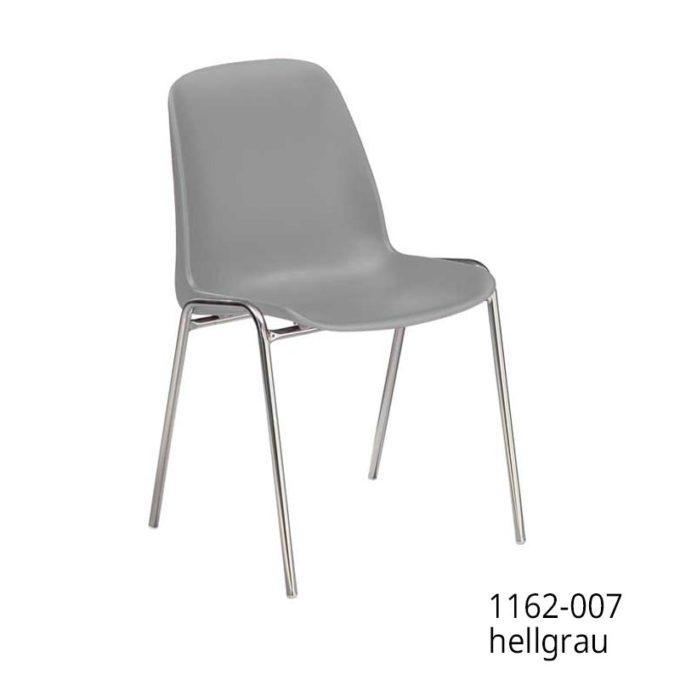 Friwa Schalen-Stapelstuhl in 11 Farben (mit oder ohne Reihenverbindung) 10