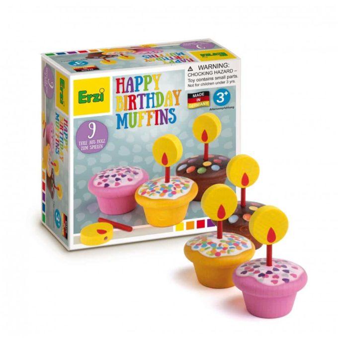 Kaufladenartikel - Geburtstagsmuffins 1