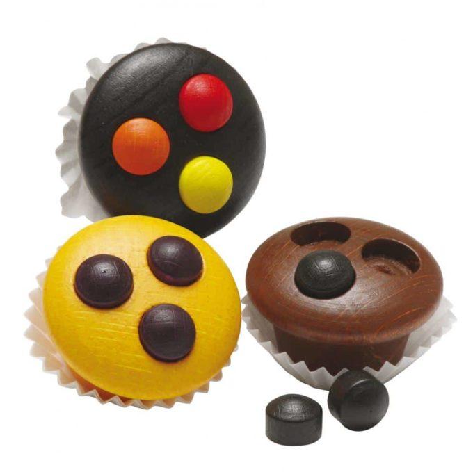 Kaufladenartikel - Muffins (3x3 Stück) 1