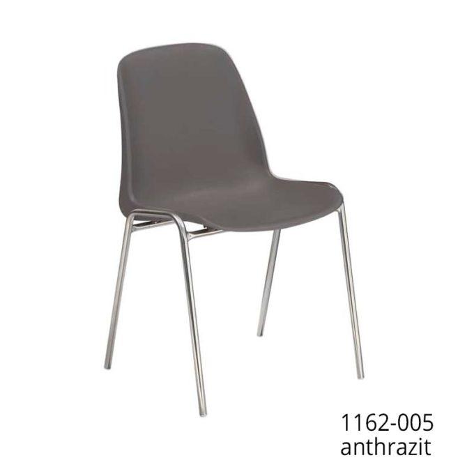 Friwa Schalen-Stapelstuhl in 11 Farben (mit oder ohne Reihenverbindung) 8