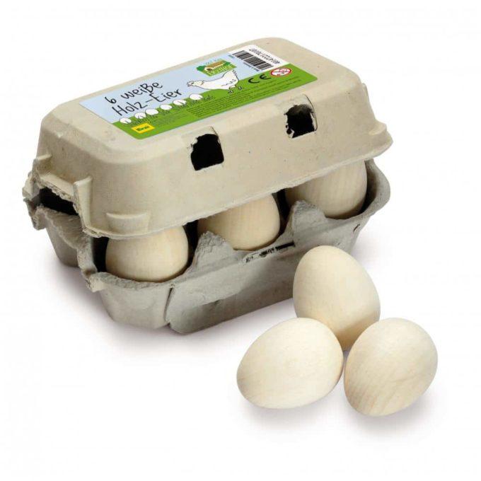 Kaufladenartikel - Eier - weiß im Karton 1
