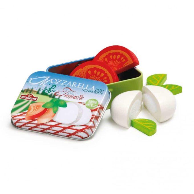 Kaufladenartikel - Mozzarella und Tomate in der Dose (3 Stück) 1