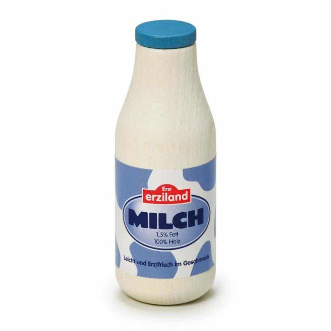 Kaufladenartikel - Milchflasche (5 Stück) 1