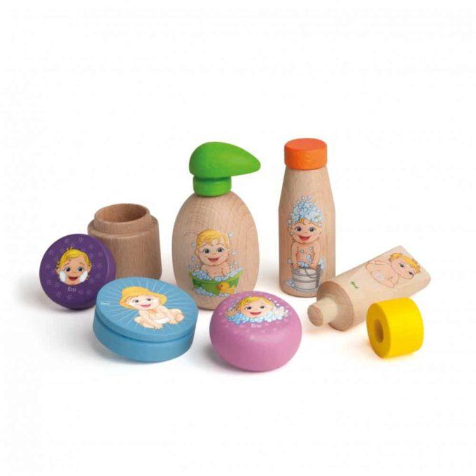 Kaufladenartikel - Sortierung Puppenpflege 1