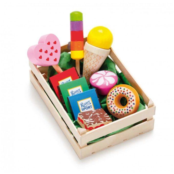 Kaufladenartikel - Sortiment Süßwaren 1