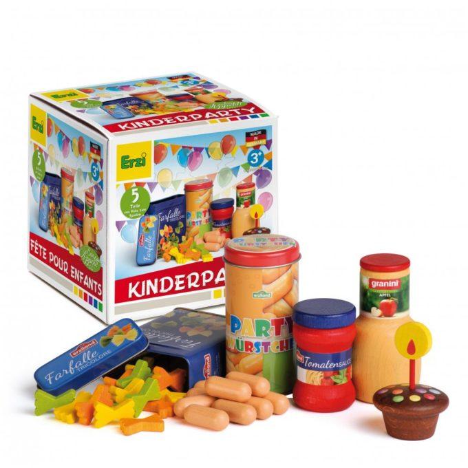 Kaufladenartikel - Sortierung Kinderparty 1