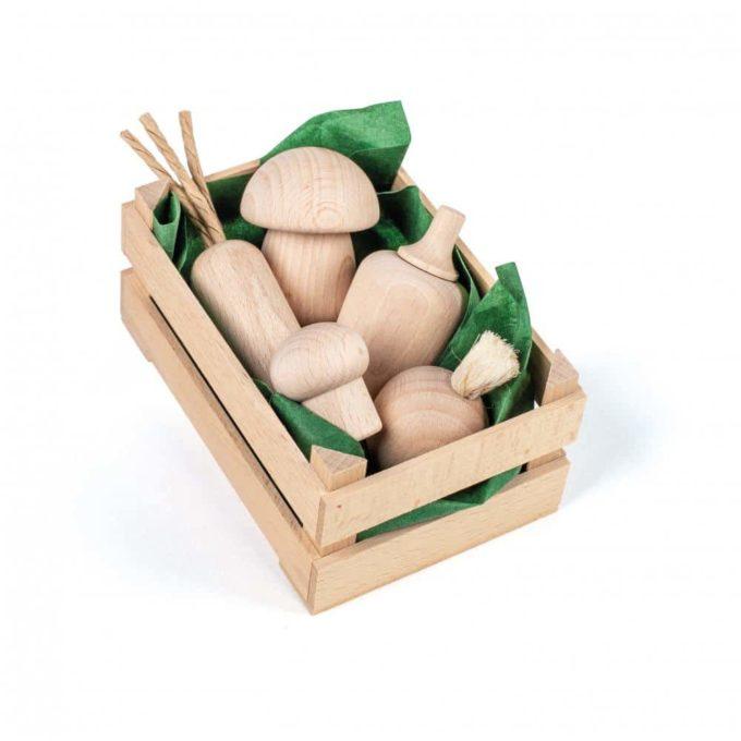 Kaufladenartikel - Sortiment Gemüse Natur - klein 1